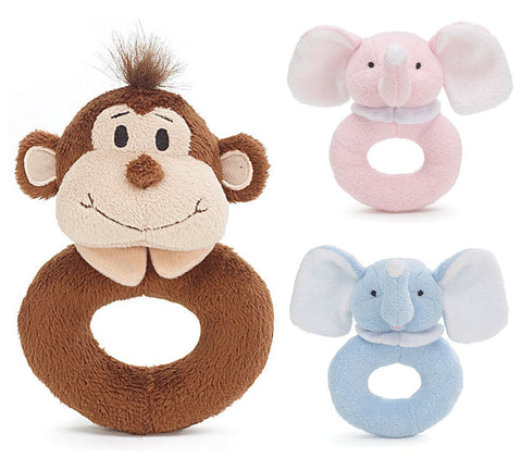 Washable Rattle - 3 options
