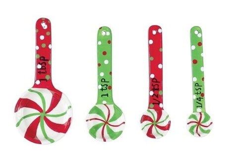 Holiday Ceramic Measuring Spoons