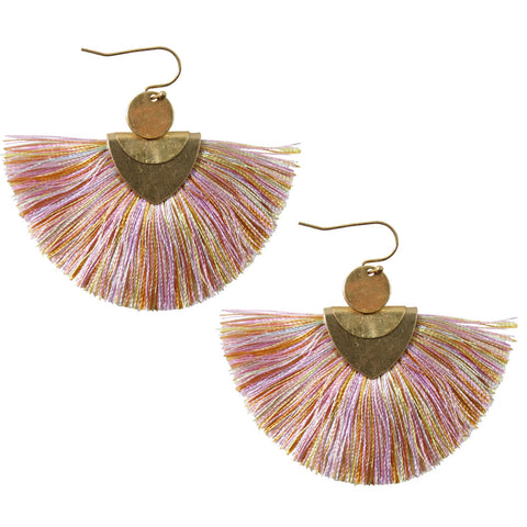 Sweet Treats Twin Tassel Earrings