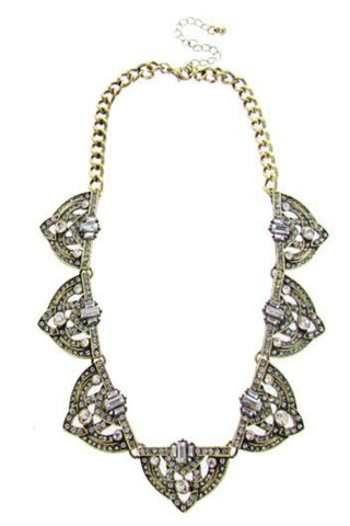 Crown Statement Necklace
