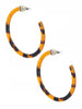 Bailey Tortoise Hoop Earrings