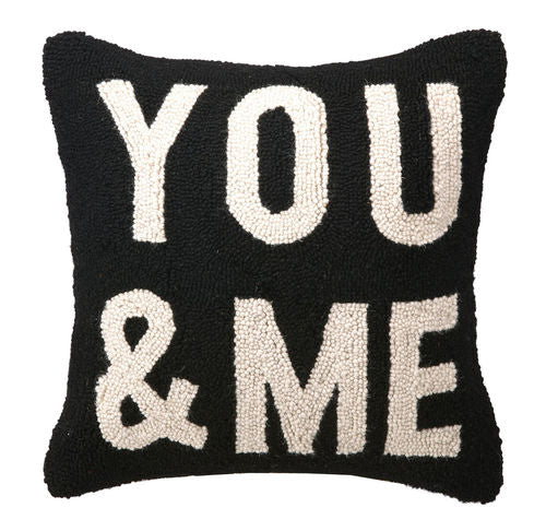 You & Me Hook Pillow