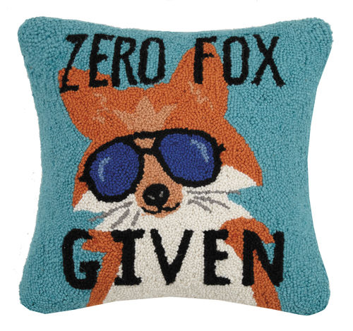 """Zero Fox Given"" Hook Pillow"