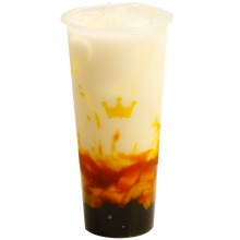 Load image into Gallery viewer, Taro Latte with Pearls