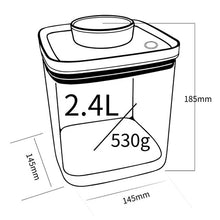 Load image into Gallery viewer, Turn-N-Seal: Vacuum Storage Canister 2.4L