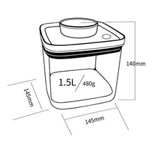 Load image into Gallery viewer, Turn-N-Seal: Vacuum Storage Canister 1.5L