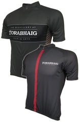 Torabhaig Red and Gold Road Cycling Jerseys Thumbnail