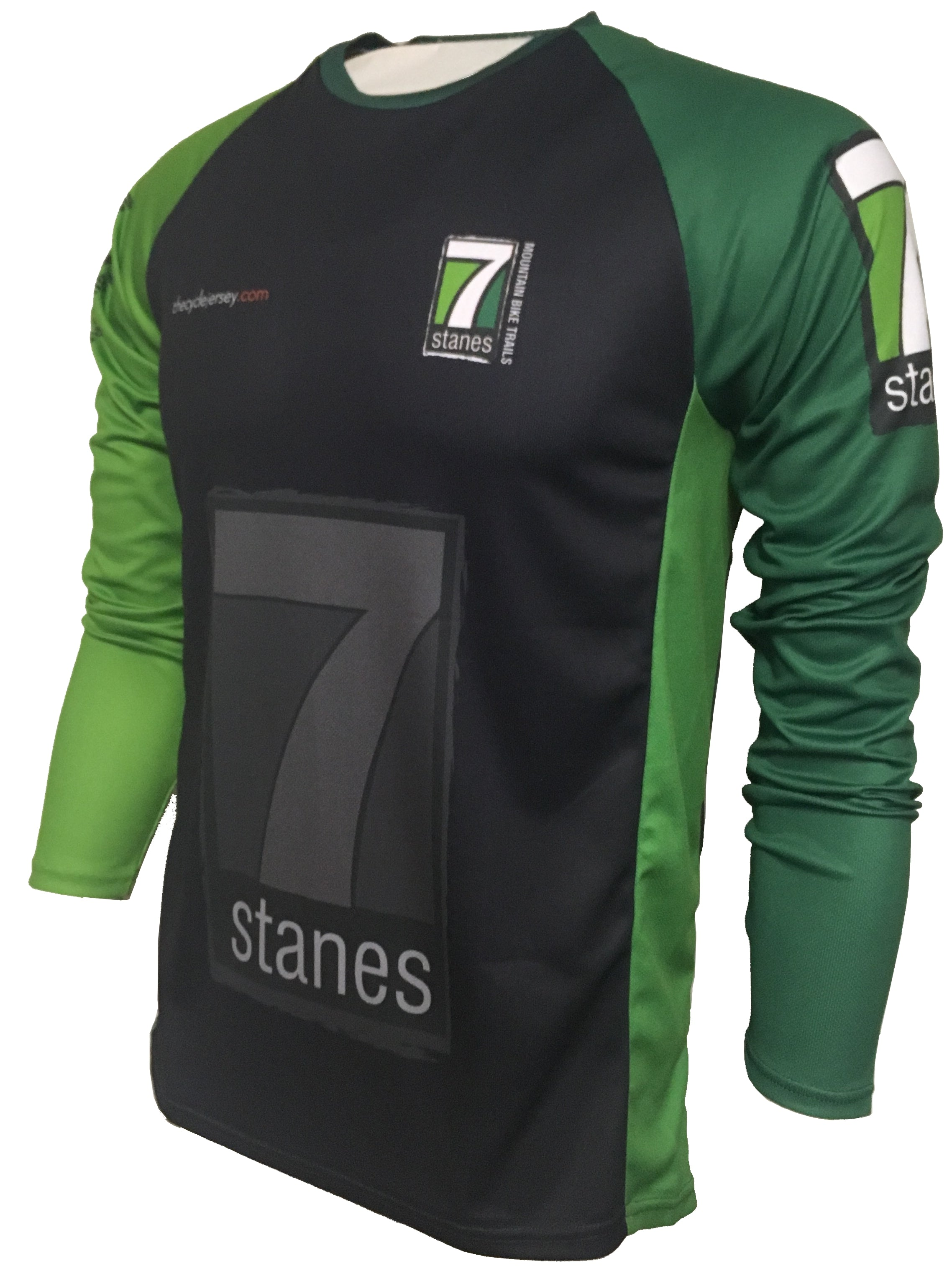 7stanes Enduro Cycling Jersey Front