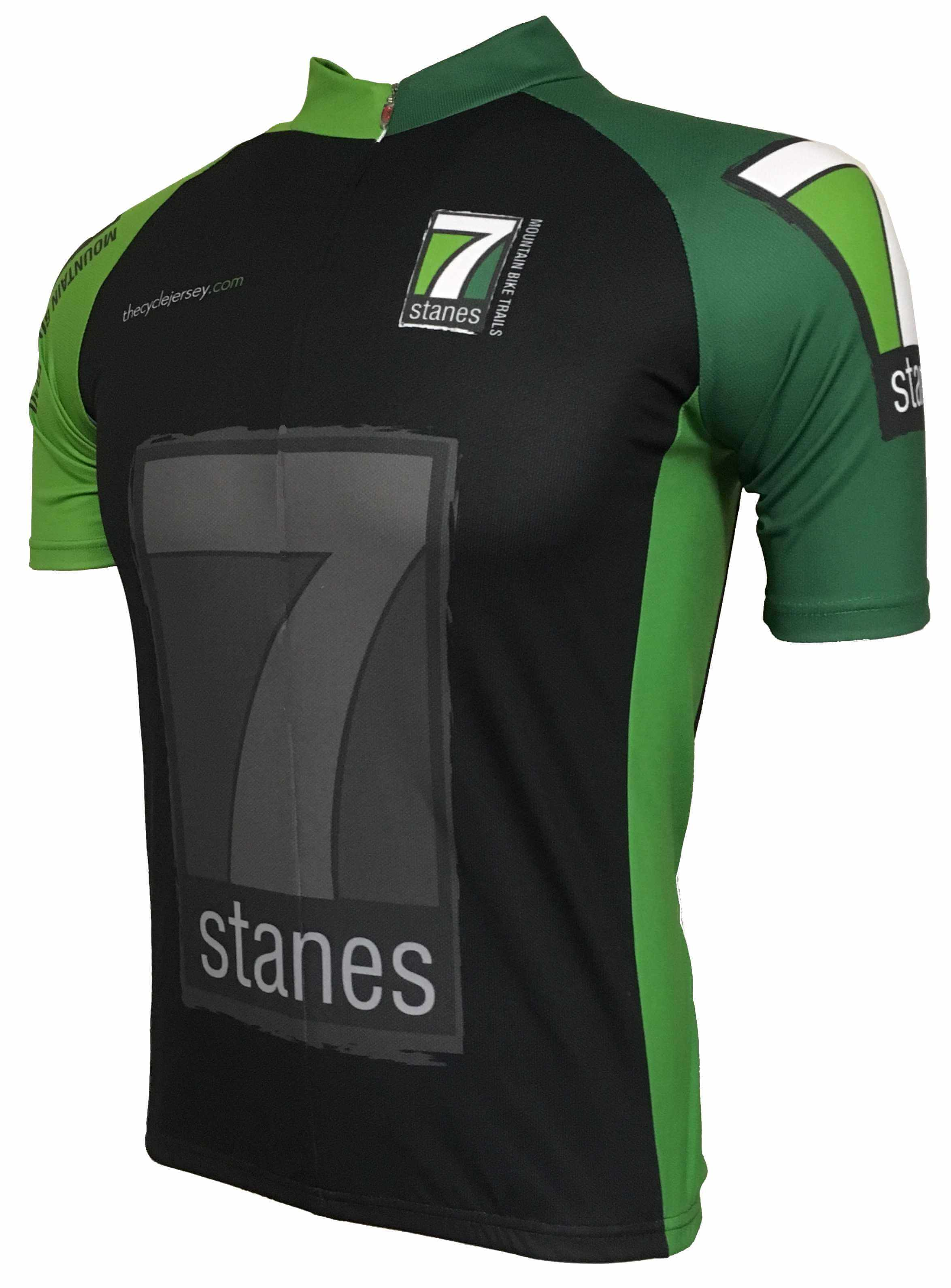 7Stanes Kids Road Cycling Jersey Front