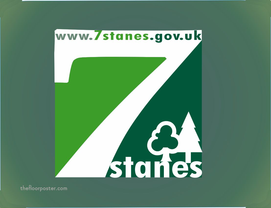 7 Stanes Mouse Mat Print