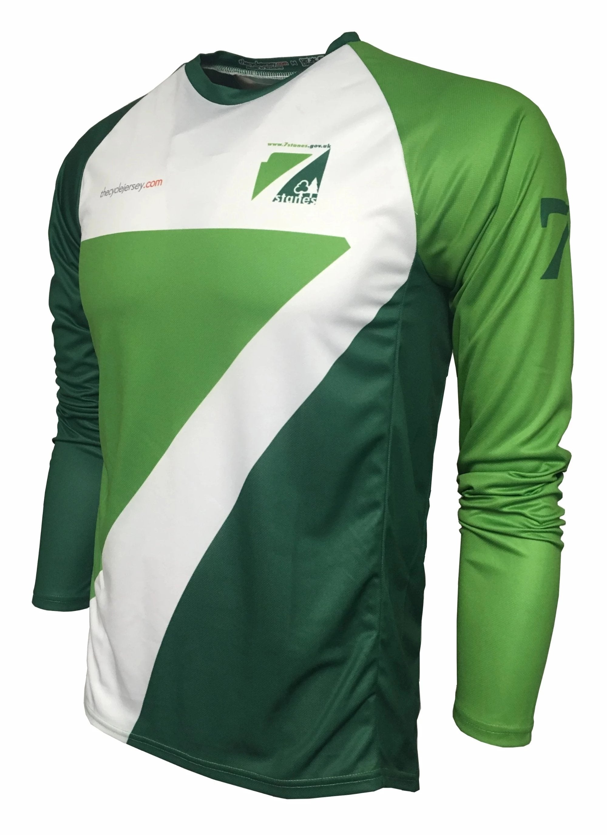 7Stanes Classic Enduro Cycling Jersey Front