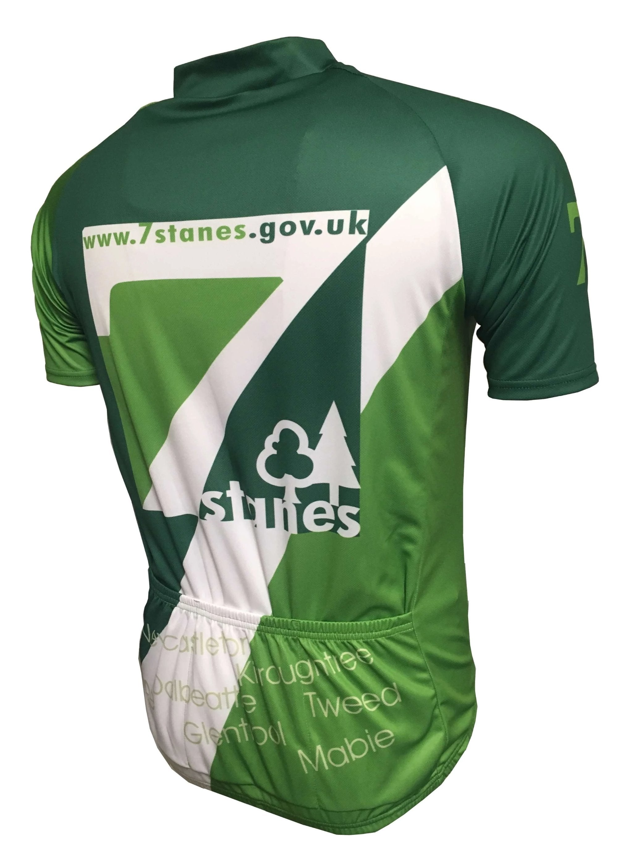 7 Stanes Classic Cycling Jersey Back