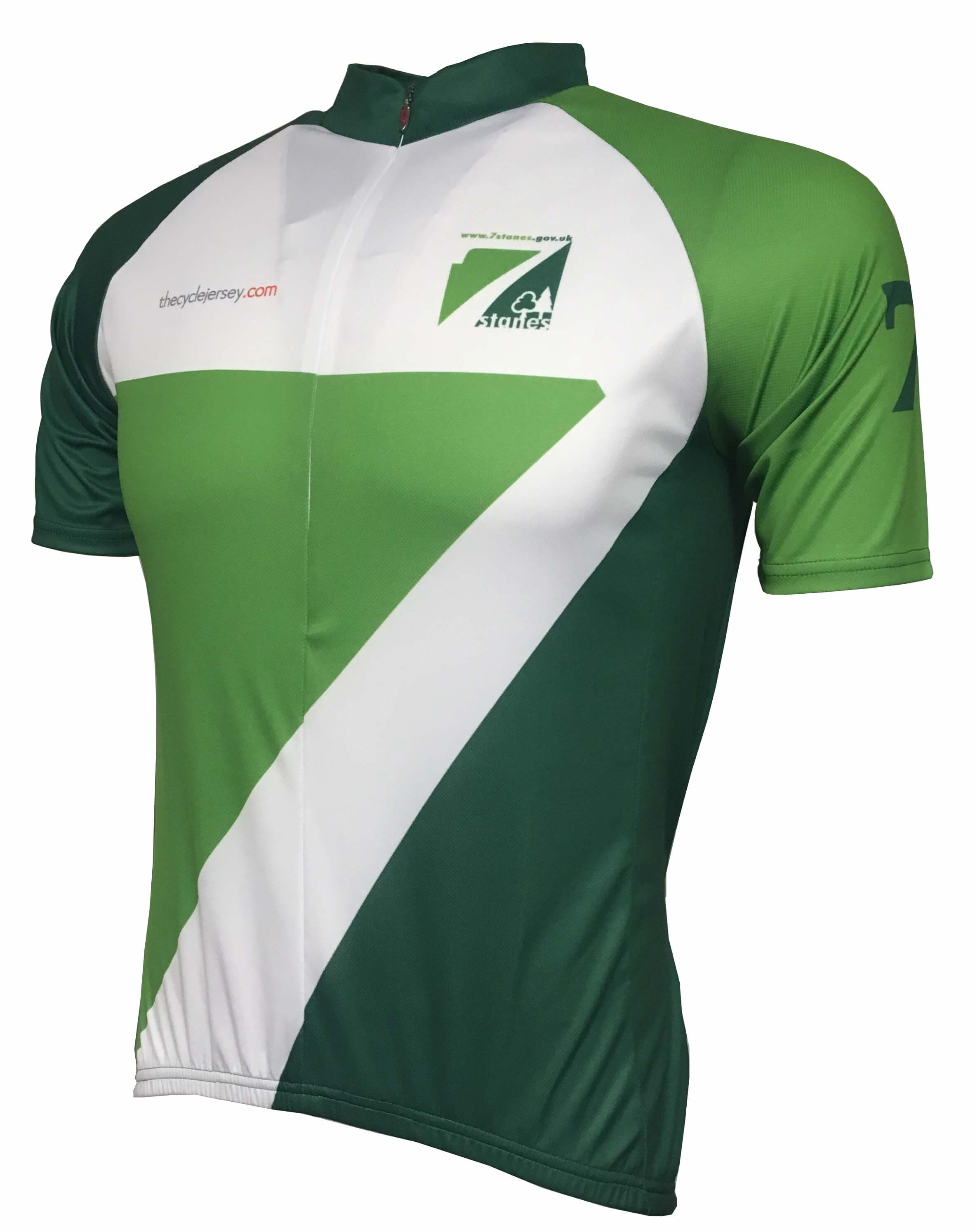 7Stanes Classic Road Cycling Jersey Front
