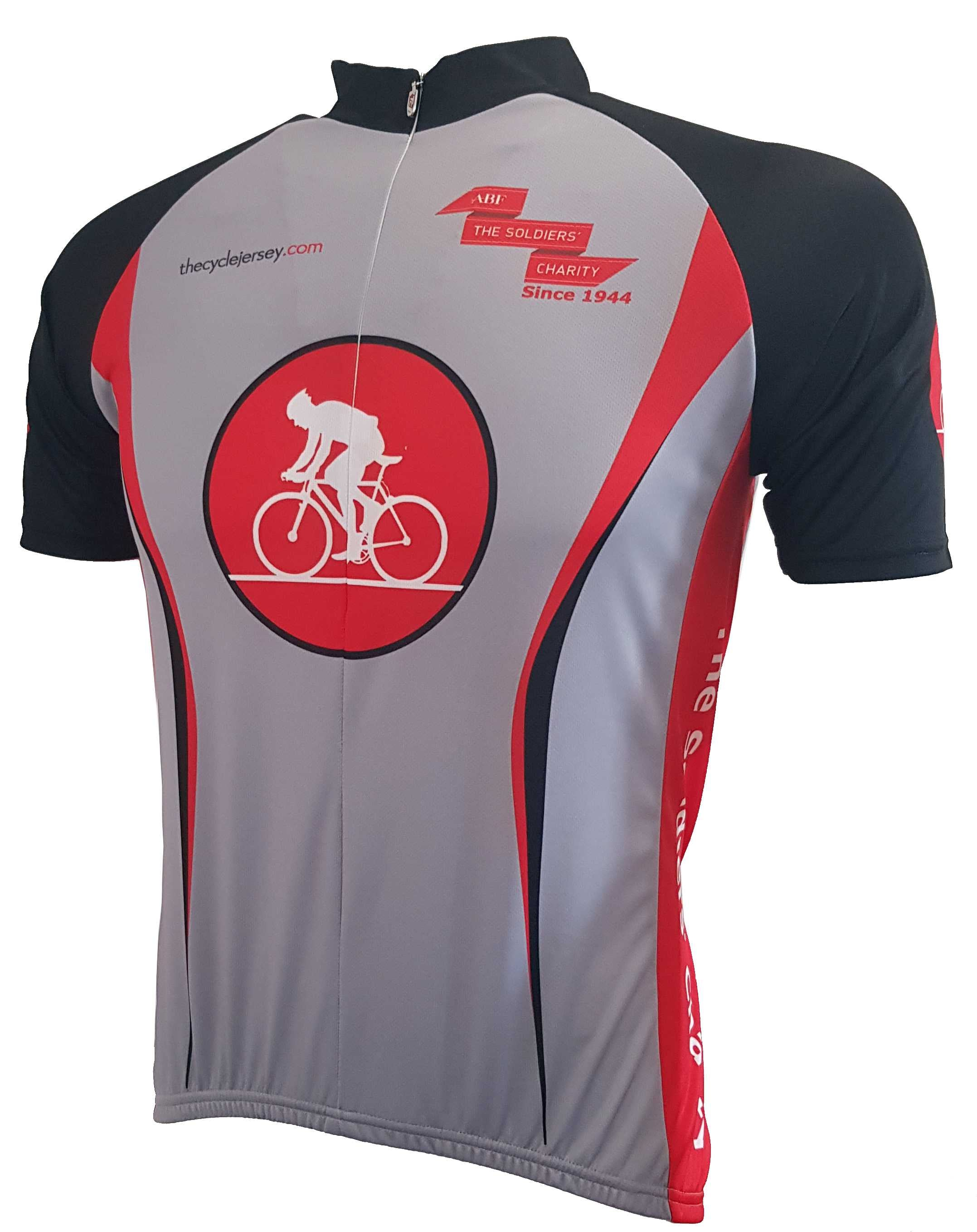 ABF The Soldiers Charity Road Cycling Jersey Front