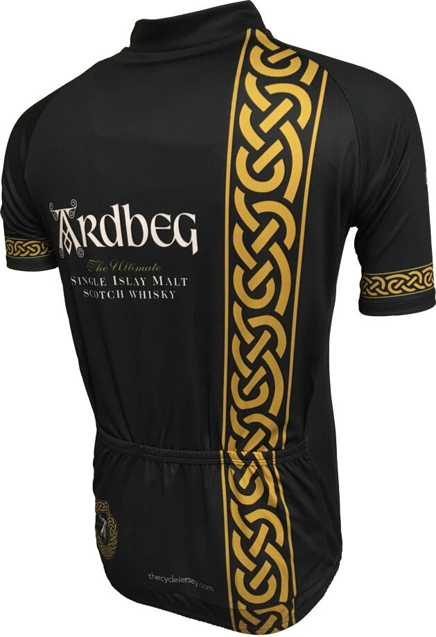 Ardbeg Whisky Celtic Road Cycling Jersey Back