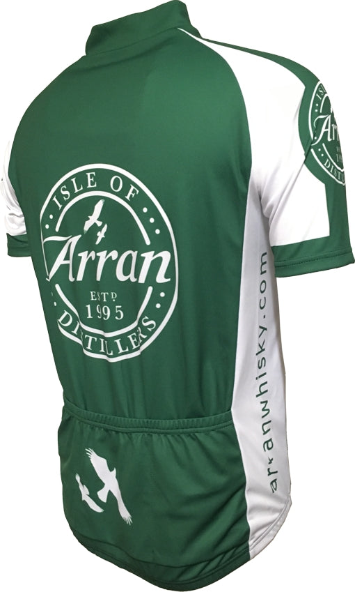 Arran Malt Whisky Green Road Jersey Back