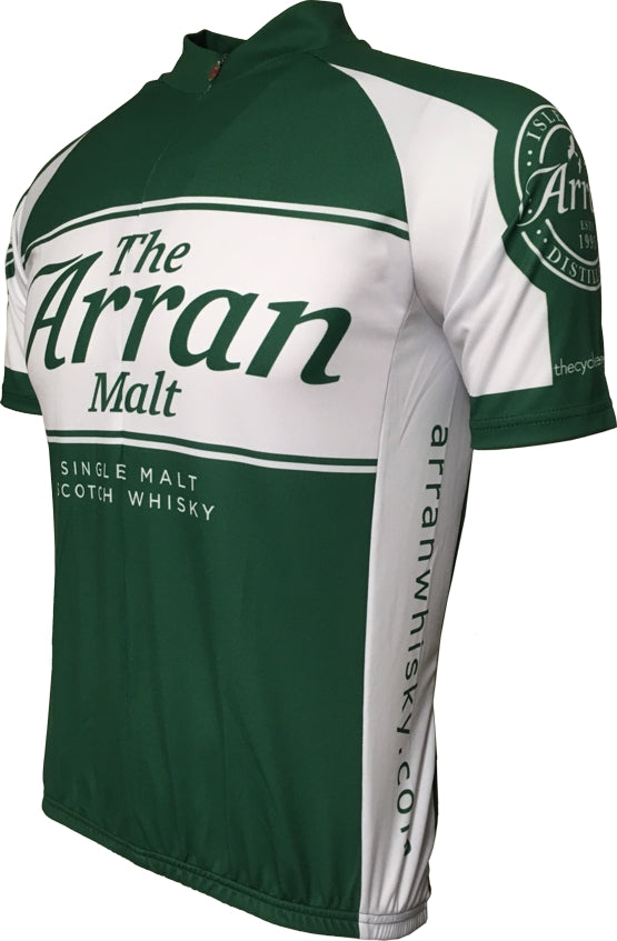 Arran Malt Whisky Green Road Jersey Front