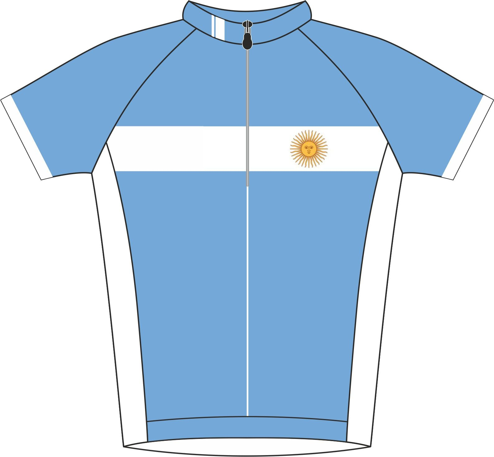 Argentina Enduro Jersey Front