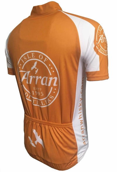 Arran Malt Whisky Copper Road Jersey Back
