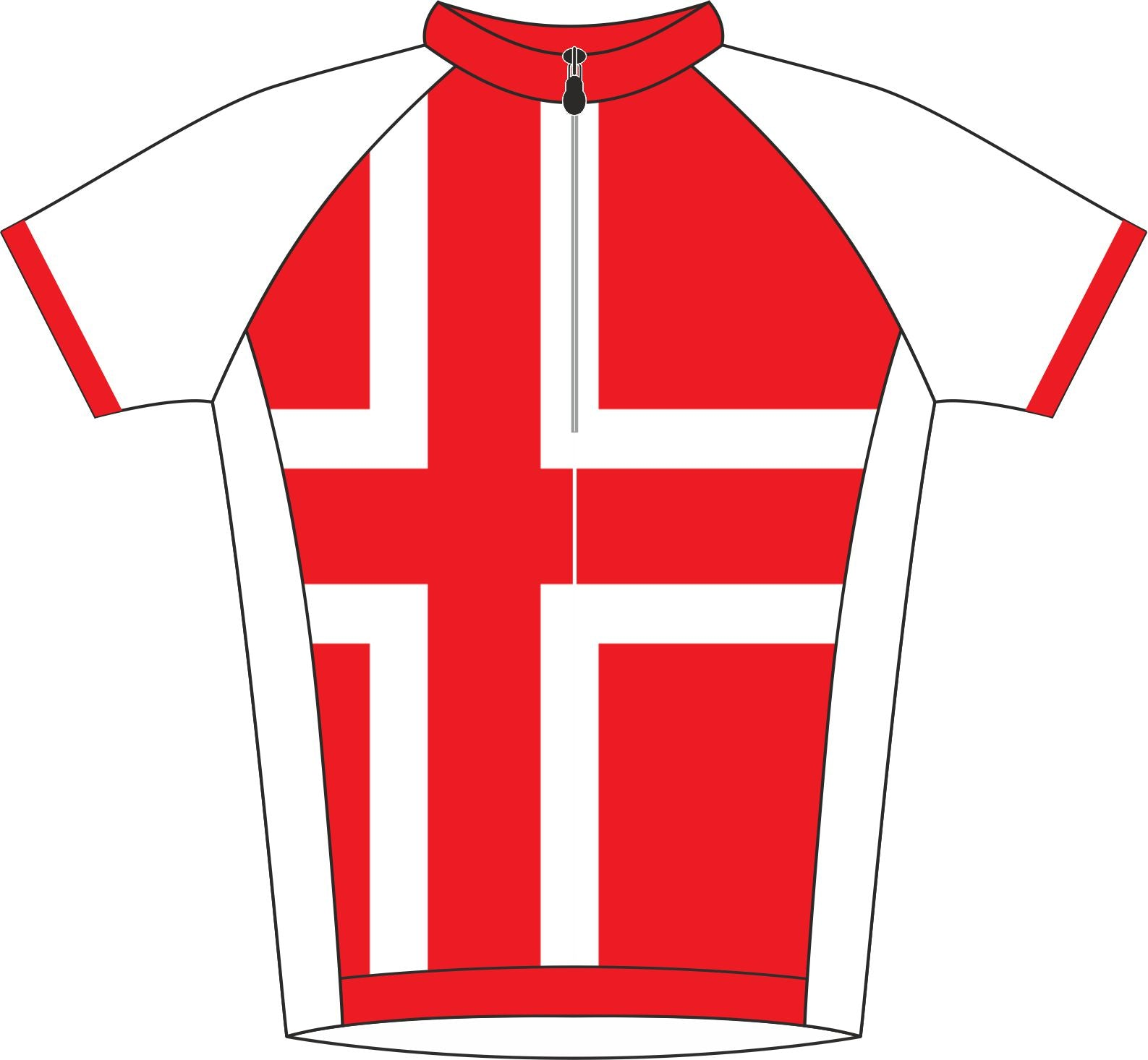 Austria Kids Cycle Jersey Front