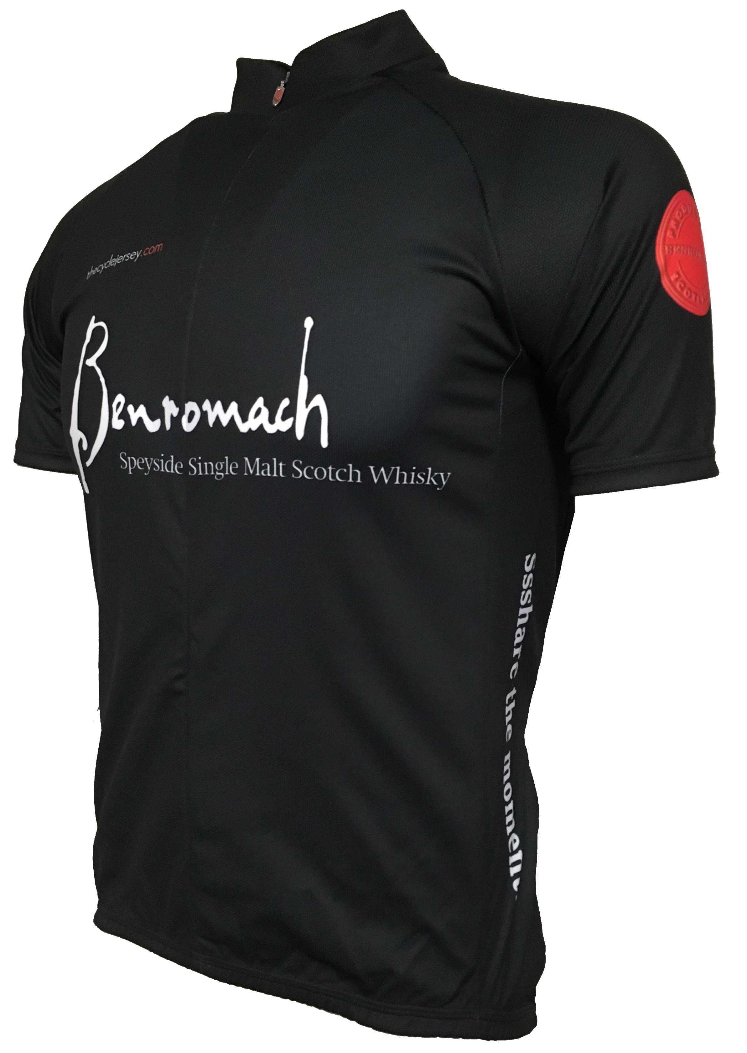 Benromach Single Malt Whisky Road Cycling Jersey Front