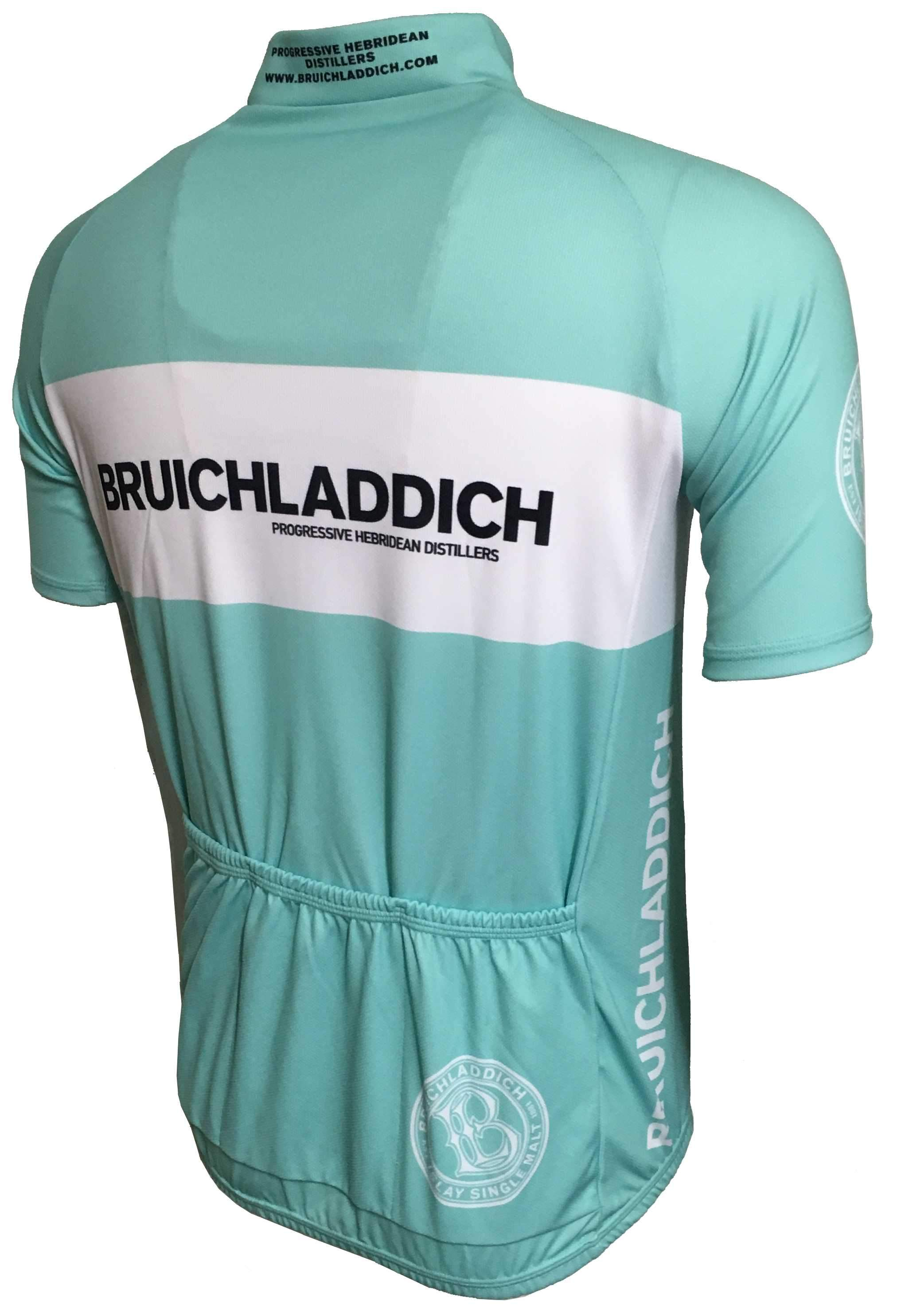 Bruichladdich Retro Cycling Jersey Back