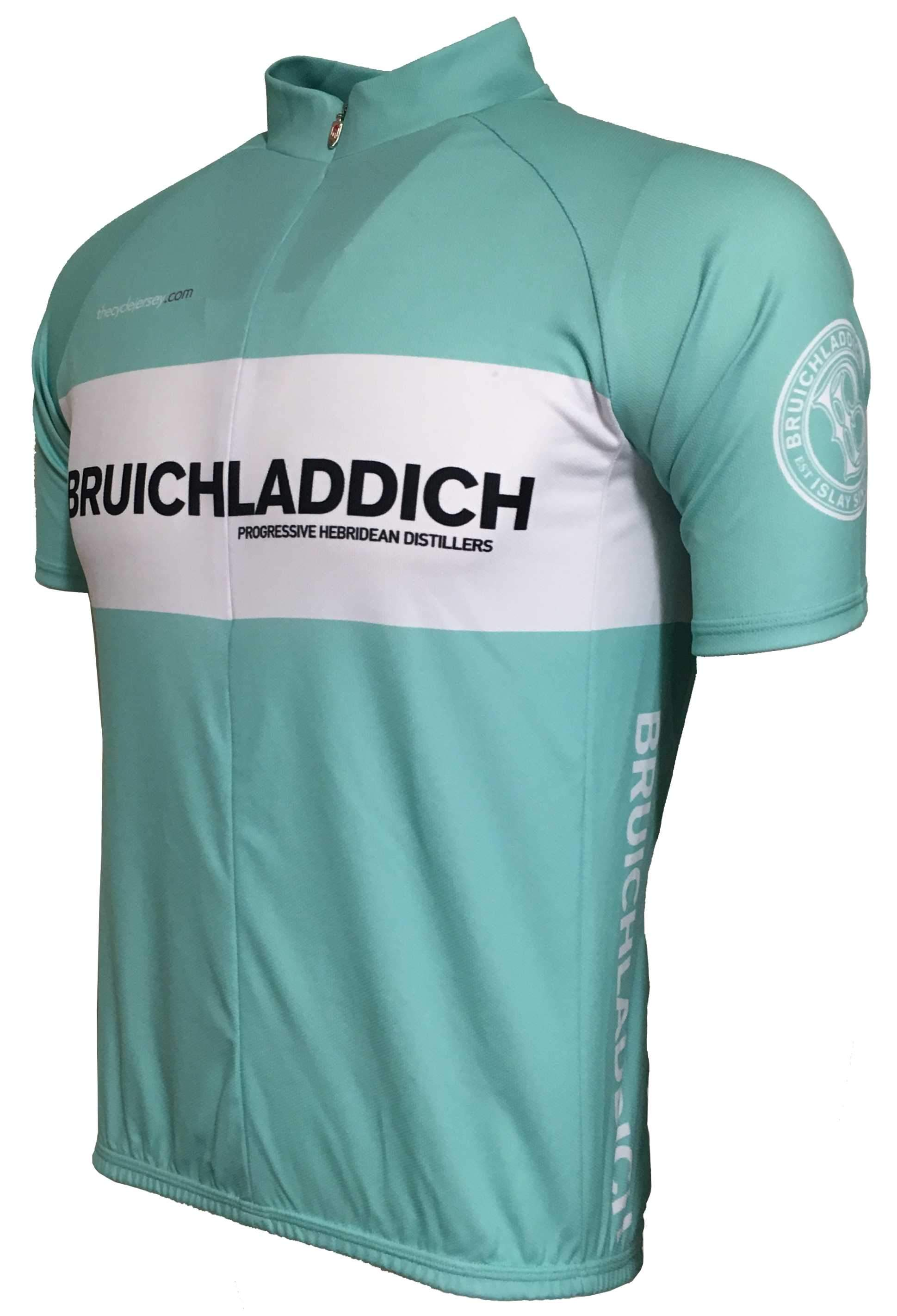 Bruichladich Retro Cycling Jersey Front