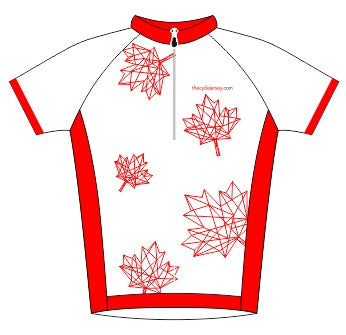 Canada Enduro Cycle Jersey Front