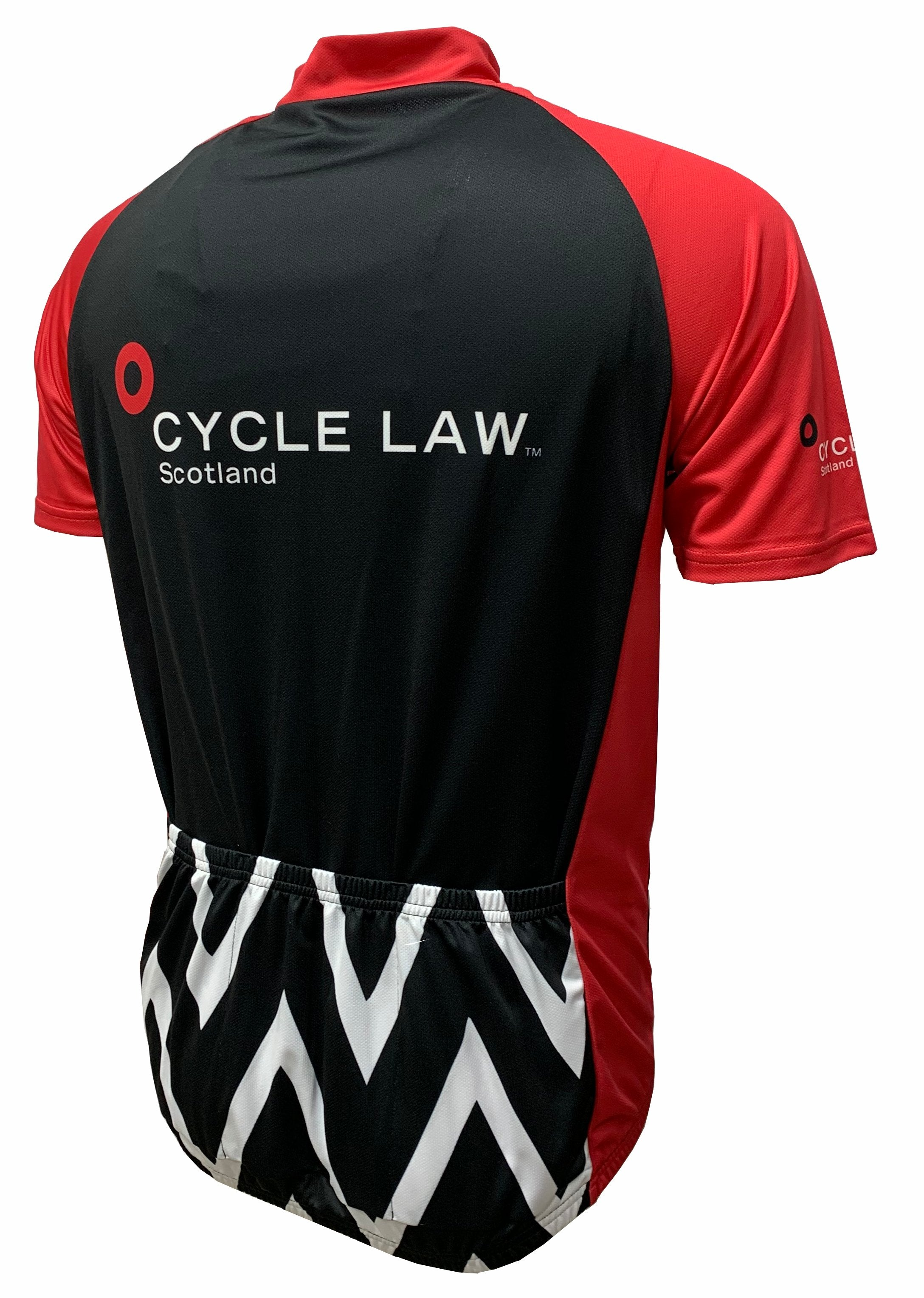 Cycle Law Scotland Road Cycling Jersey Back