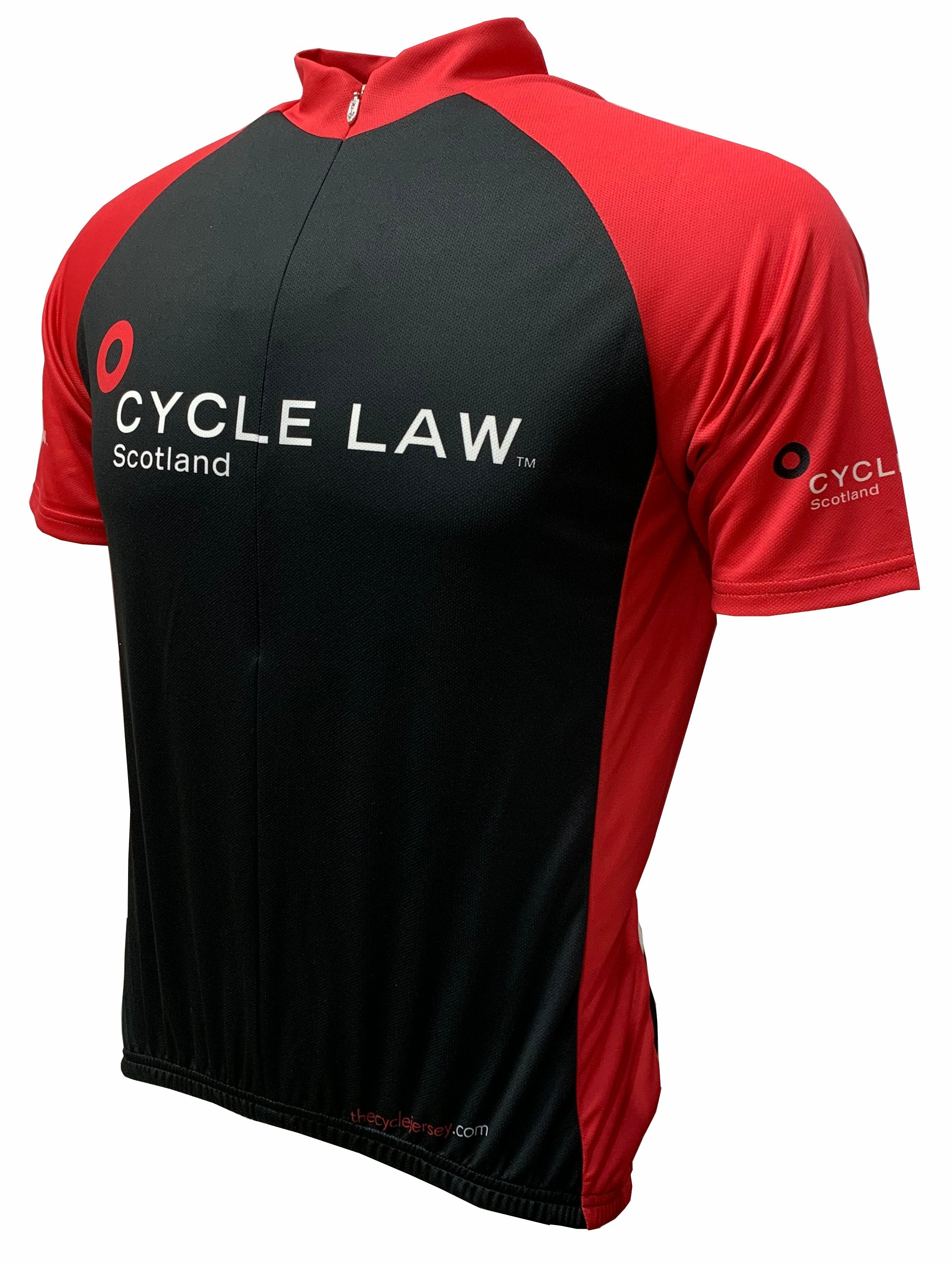 Cycle Law Scotland Road Cycling Jersey Front