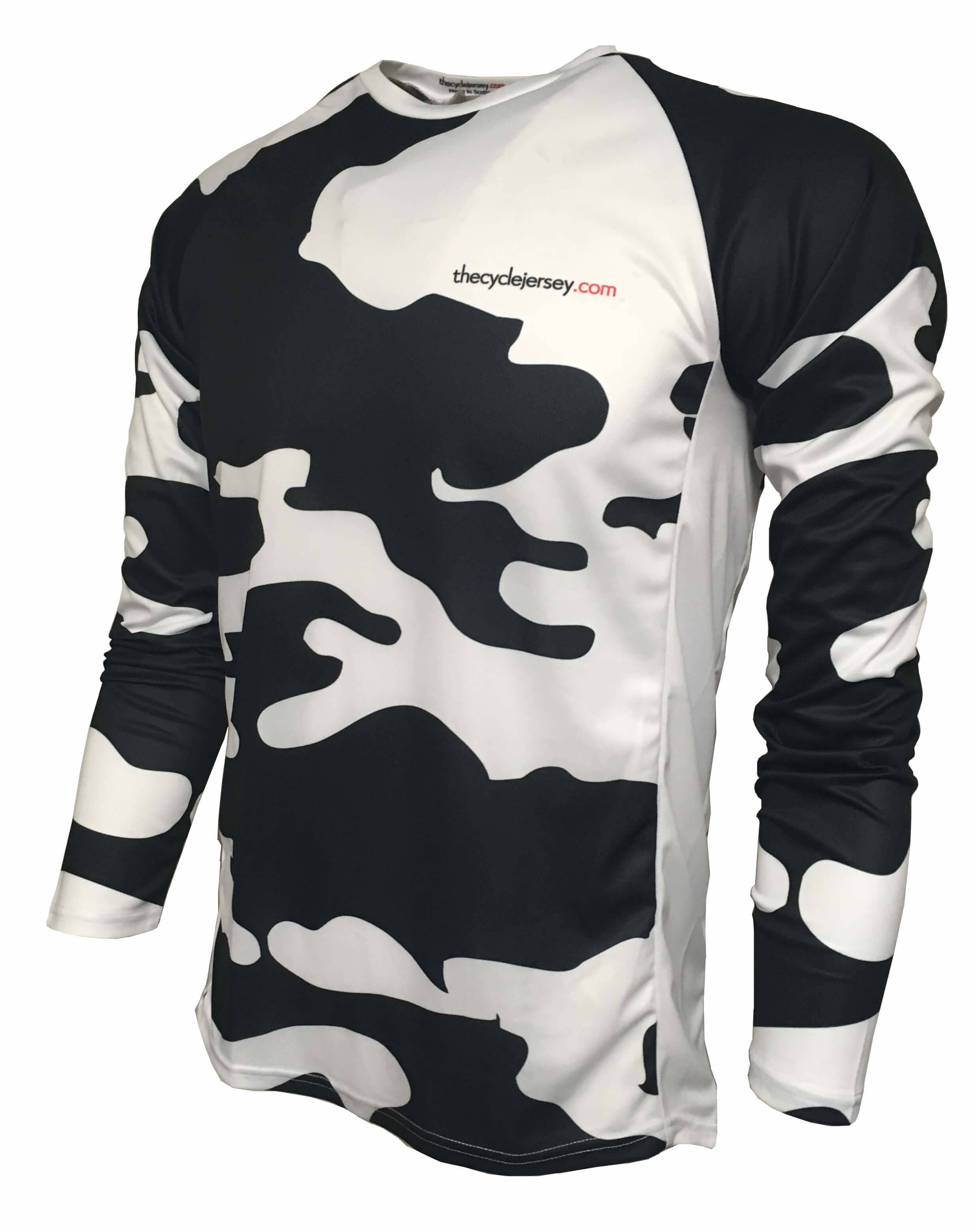 Faster Than The Udders Enduro Cycle Jersey Front