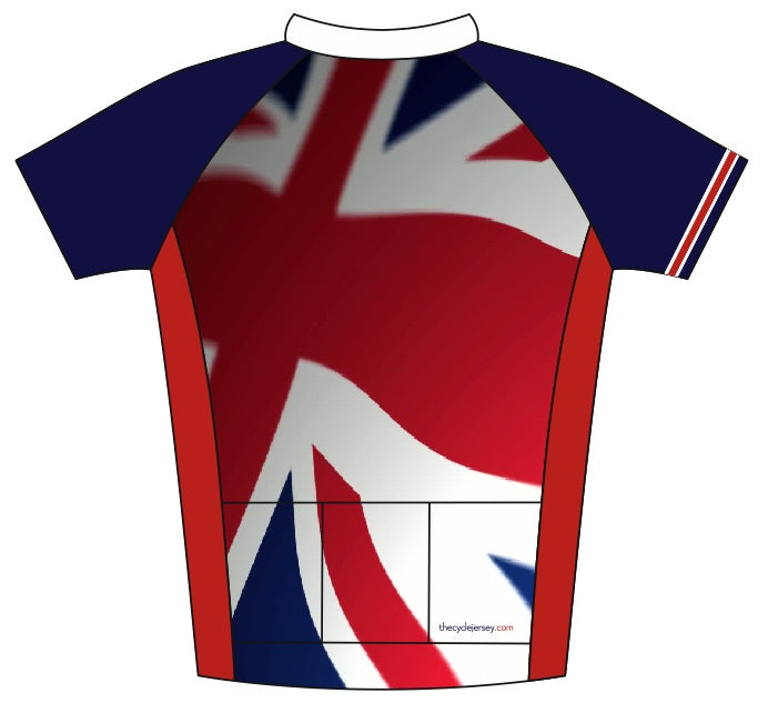 Great Britain Enduro Jersey Back