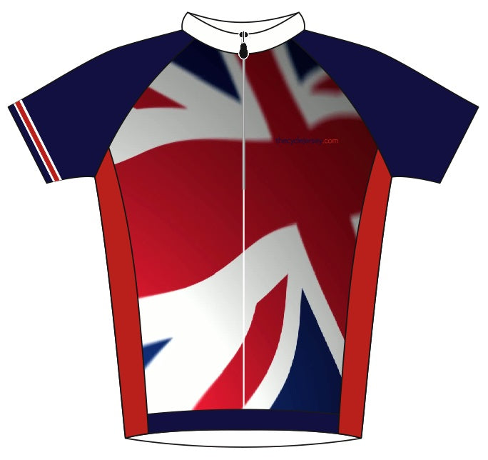 Great Britain Road Jersey Back