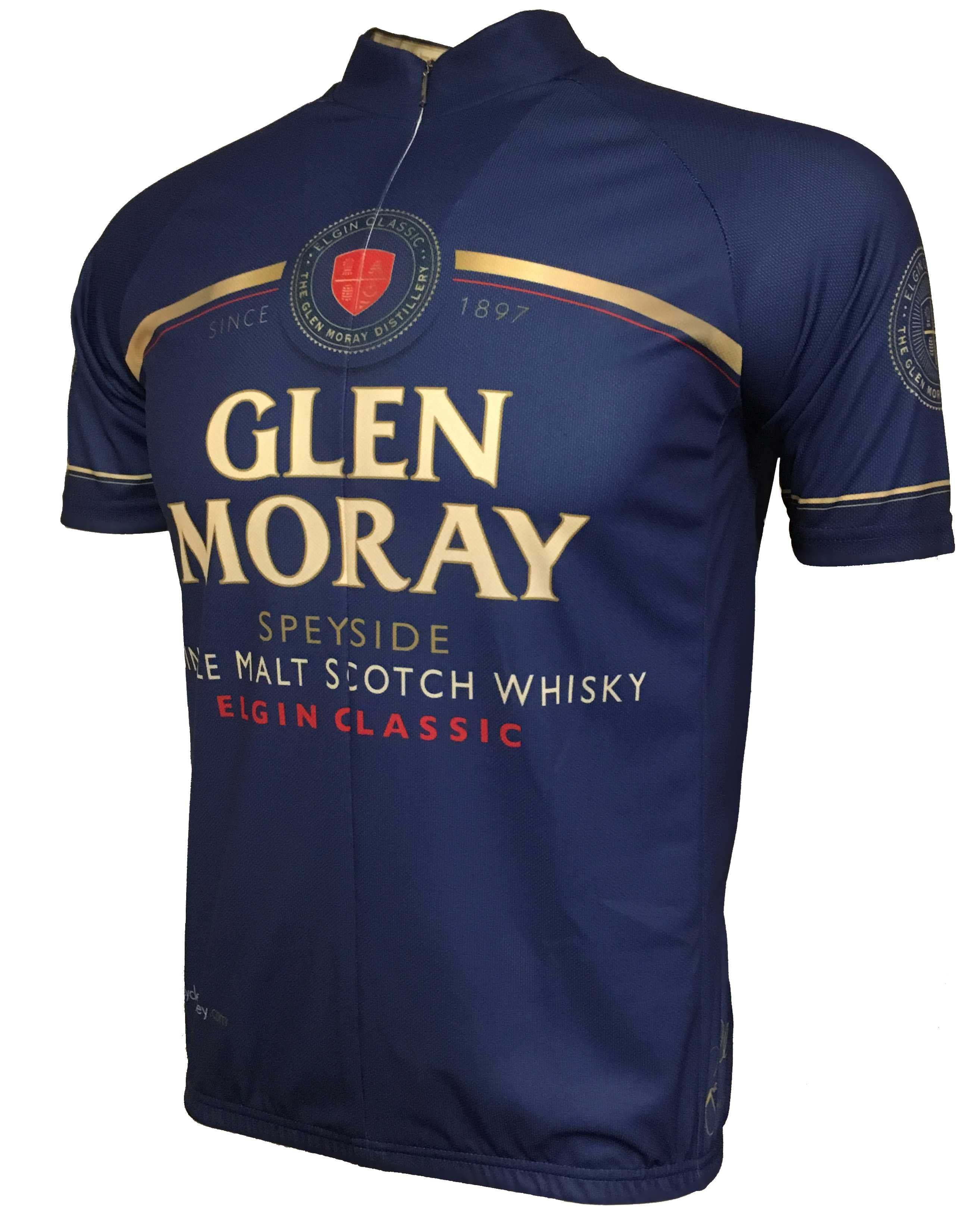 Glen Moray Whisky Road Jersey Front
