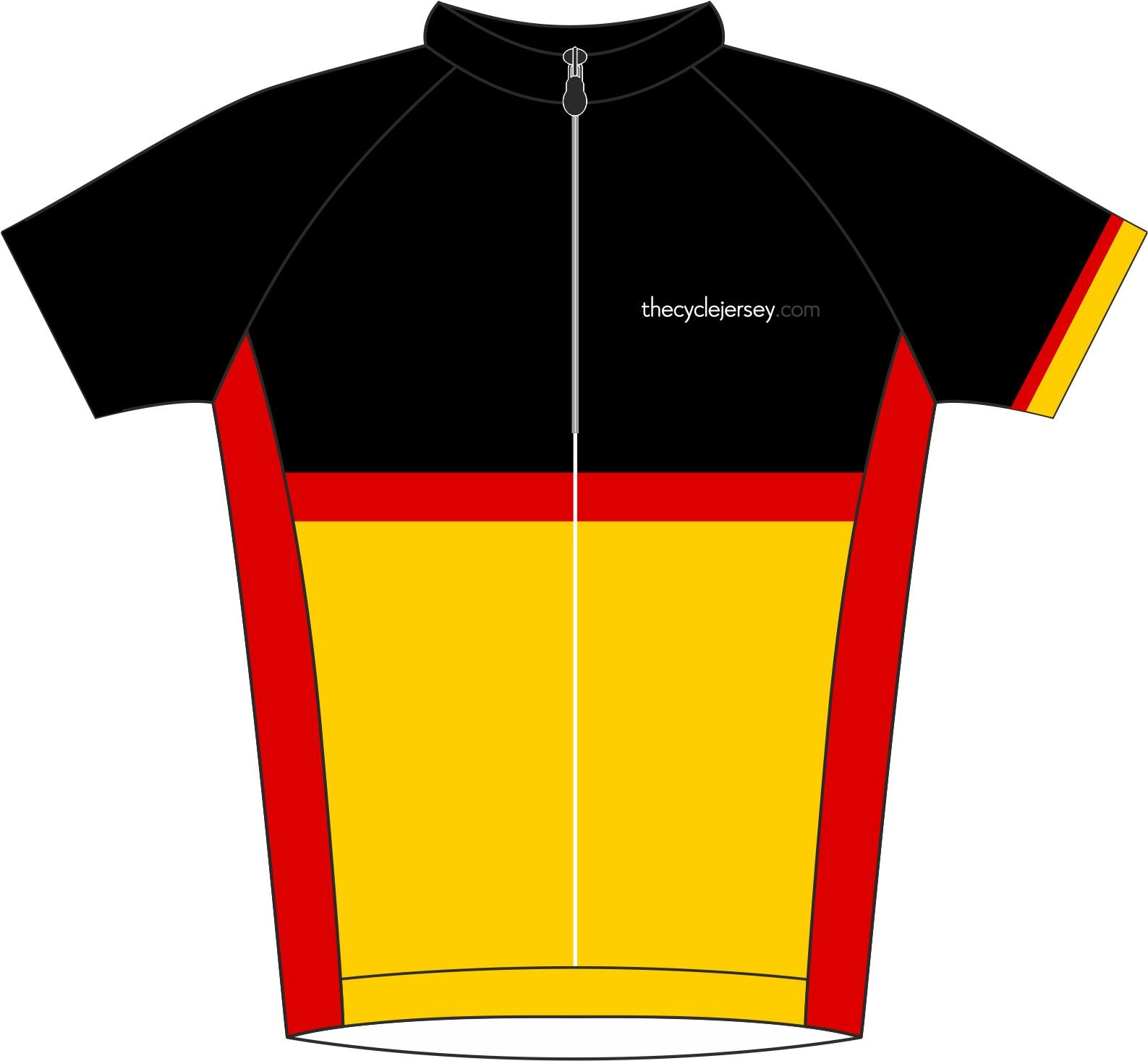 Germany Road Jersey Front