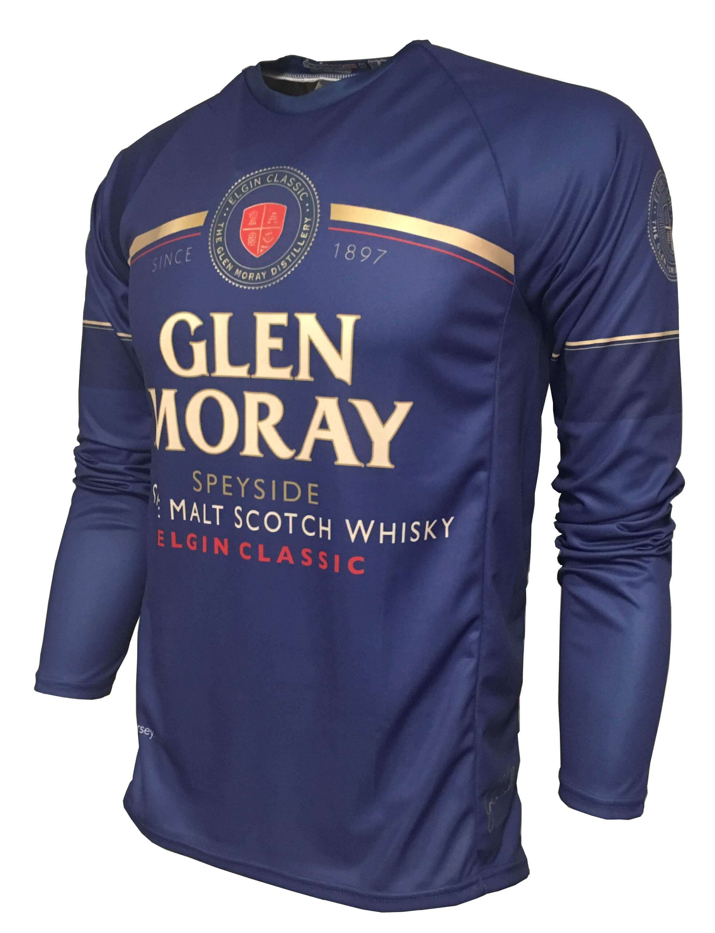 Glen Moray Whisky Enduro Jersey Front