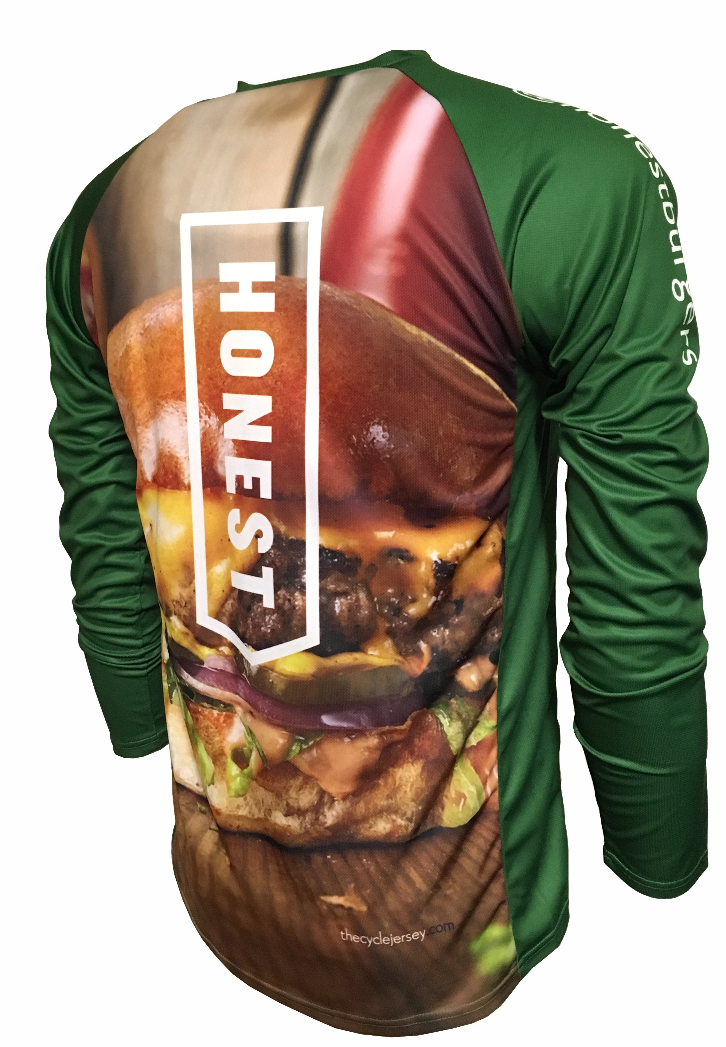Honest Burgers Enduro Jersey Back