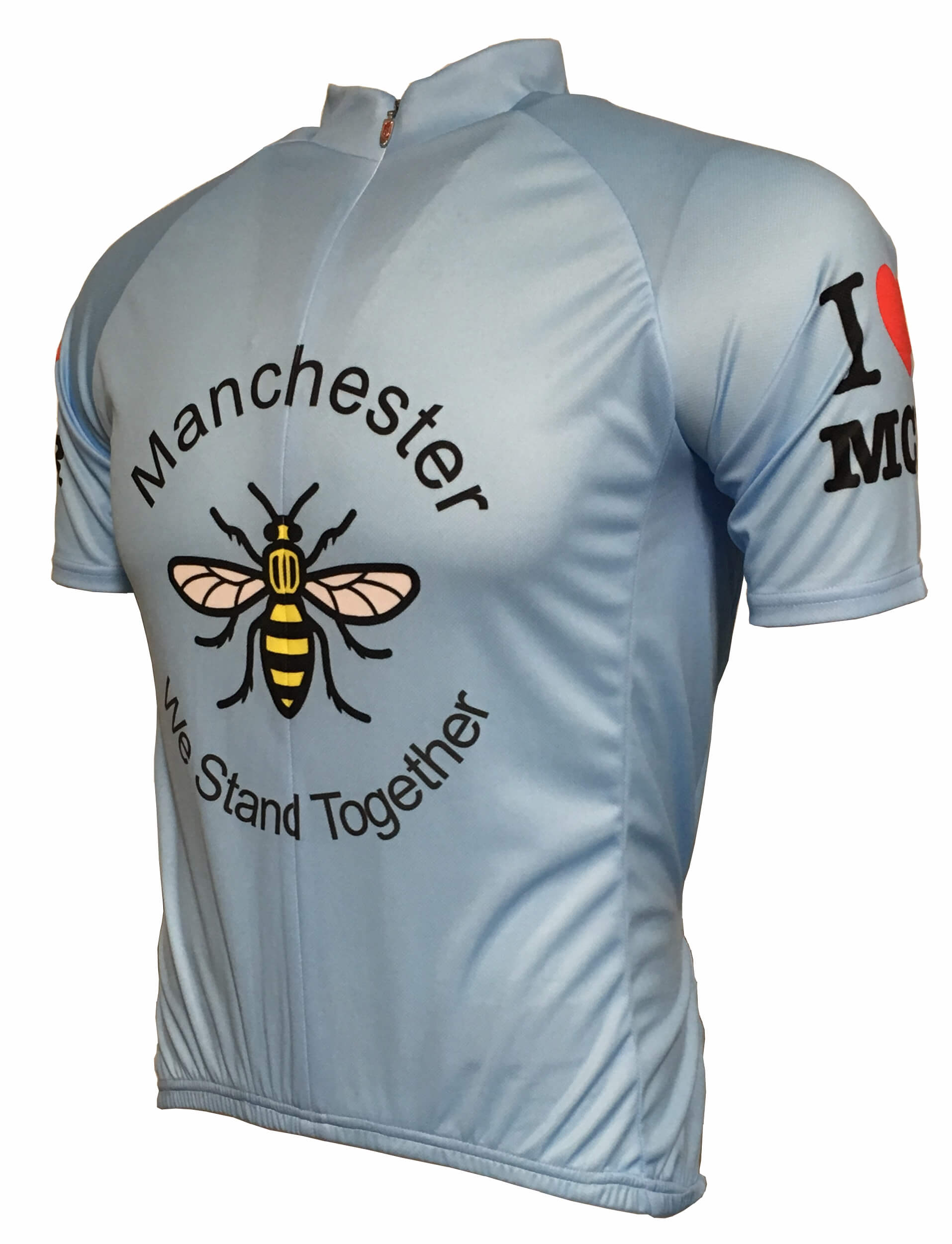 I Love Manchester Road Jersey Front
