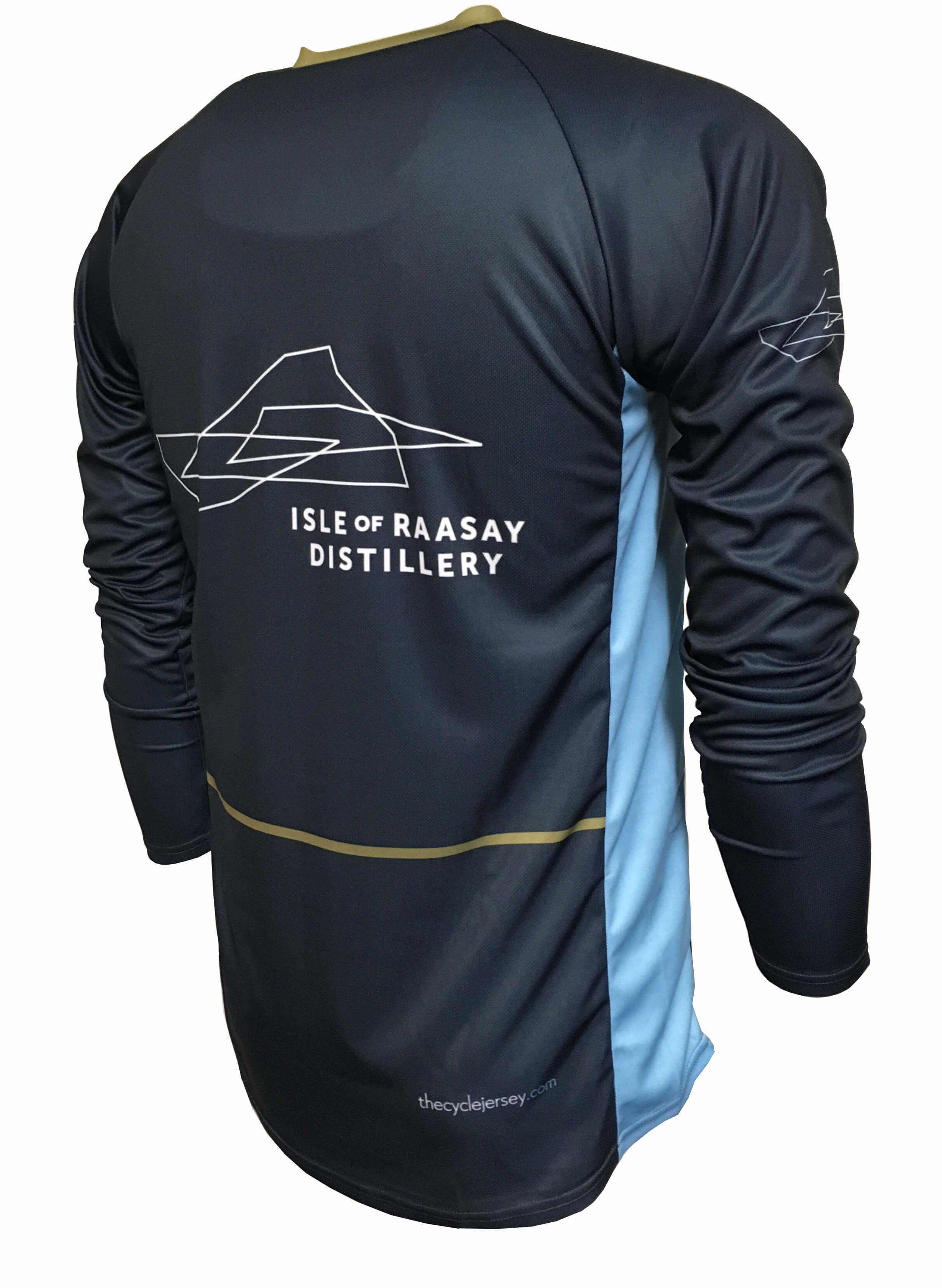 Isle of Raasay Enduro Jersey Back