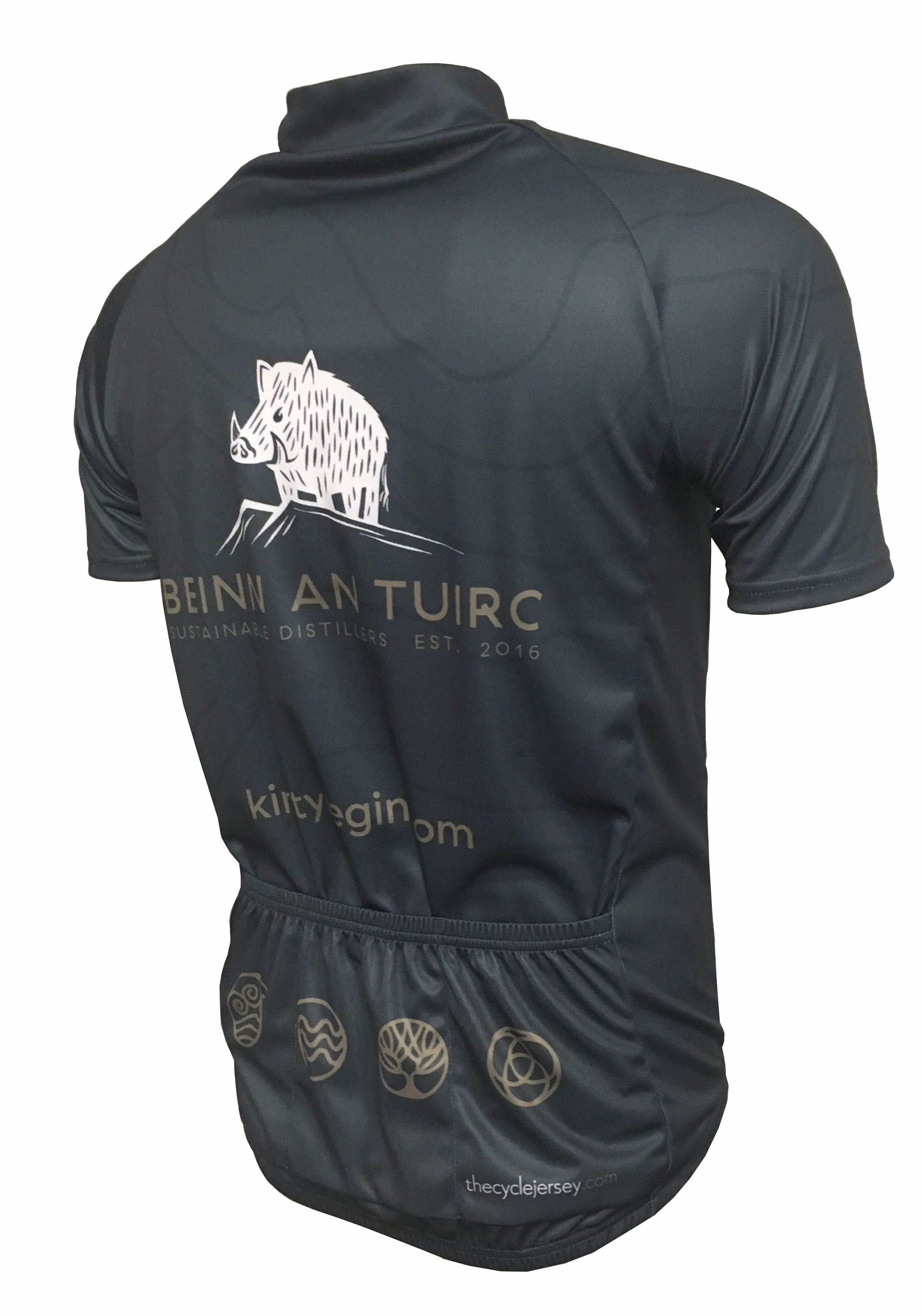 Kintyre Gin Contour Road Jersey Back