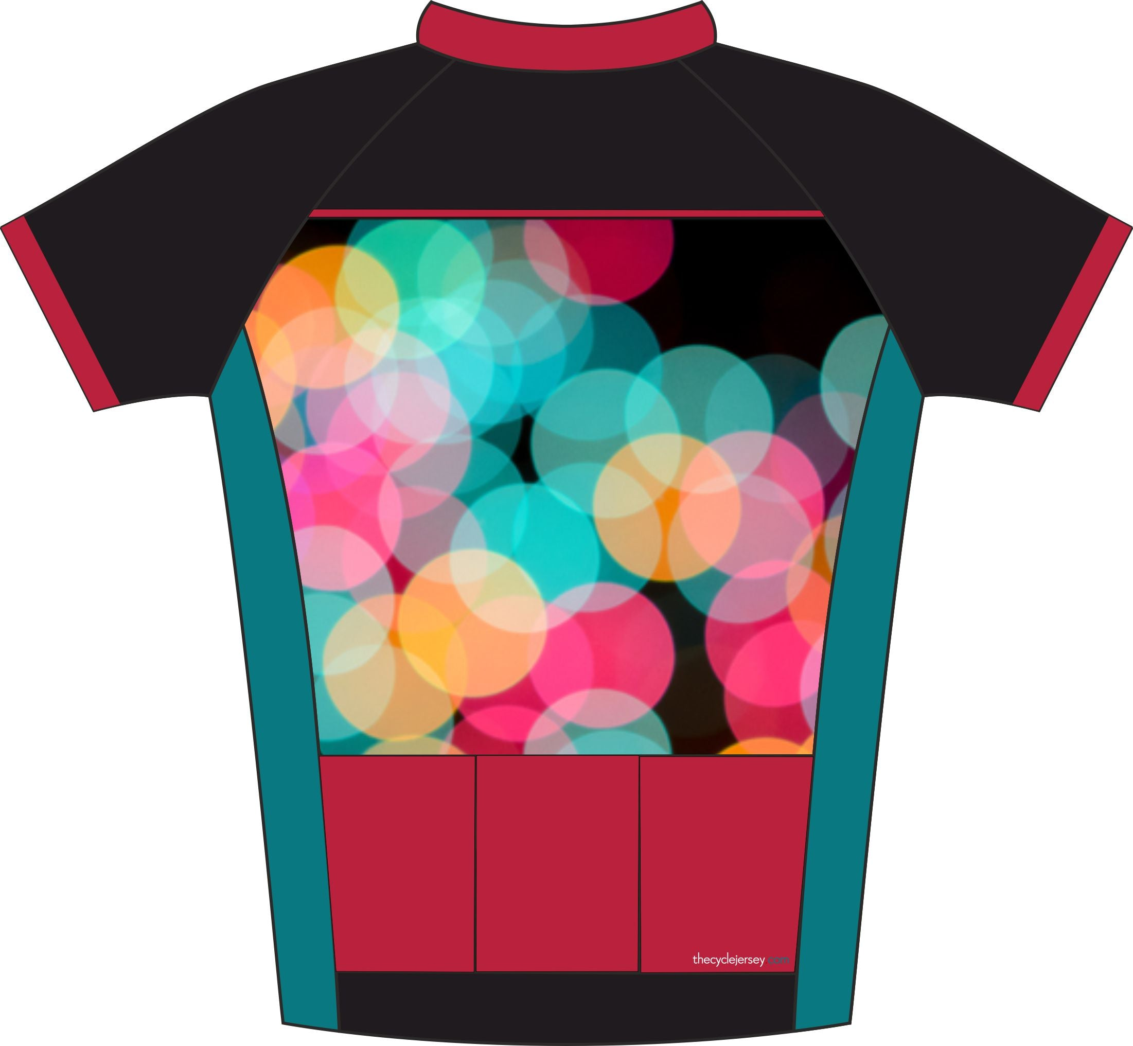 Bubble Enduro Jersey Back
