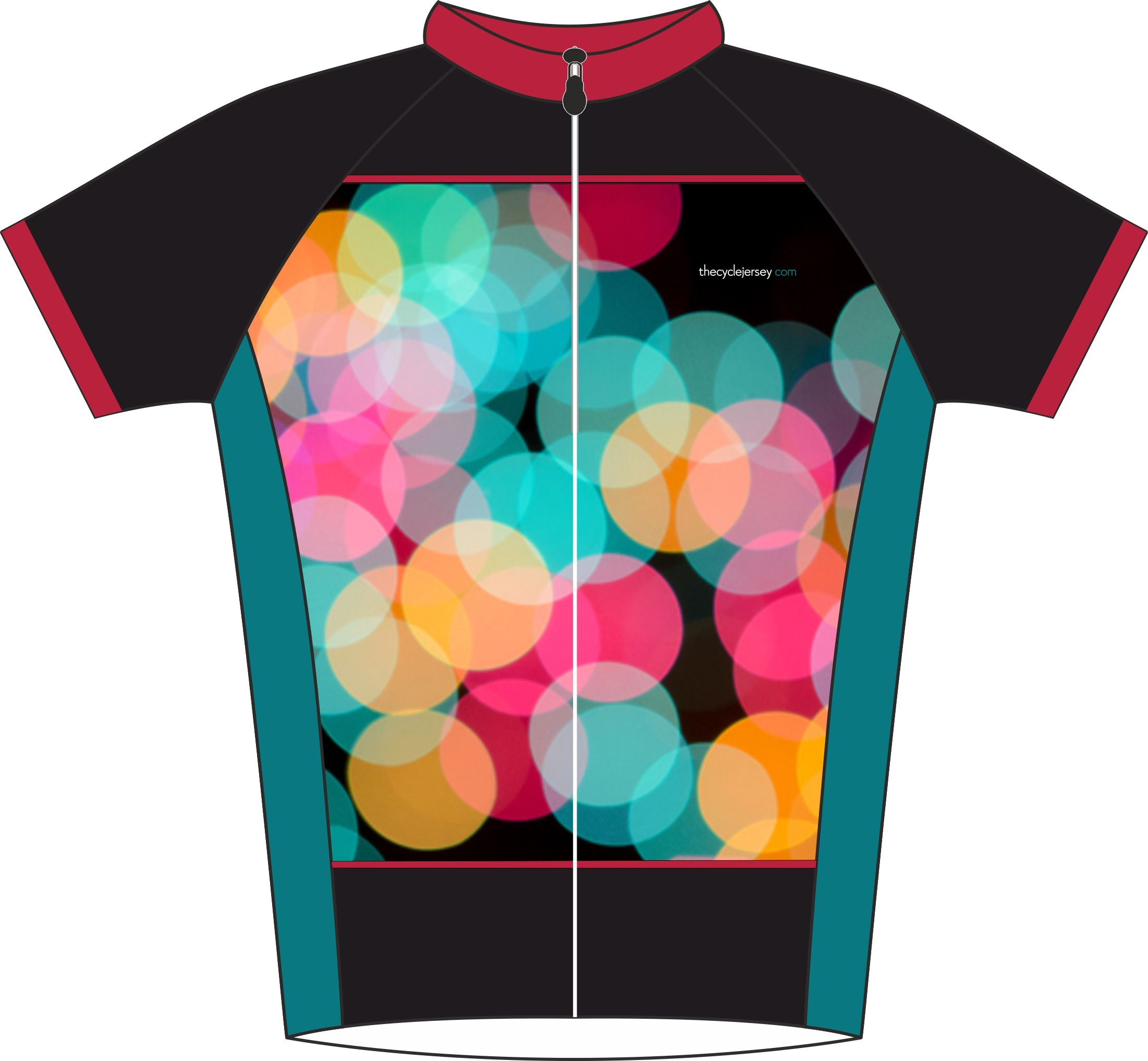 Bubble Enduro Jersey Front