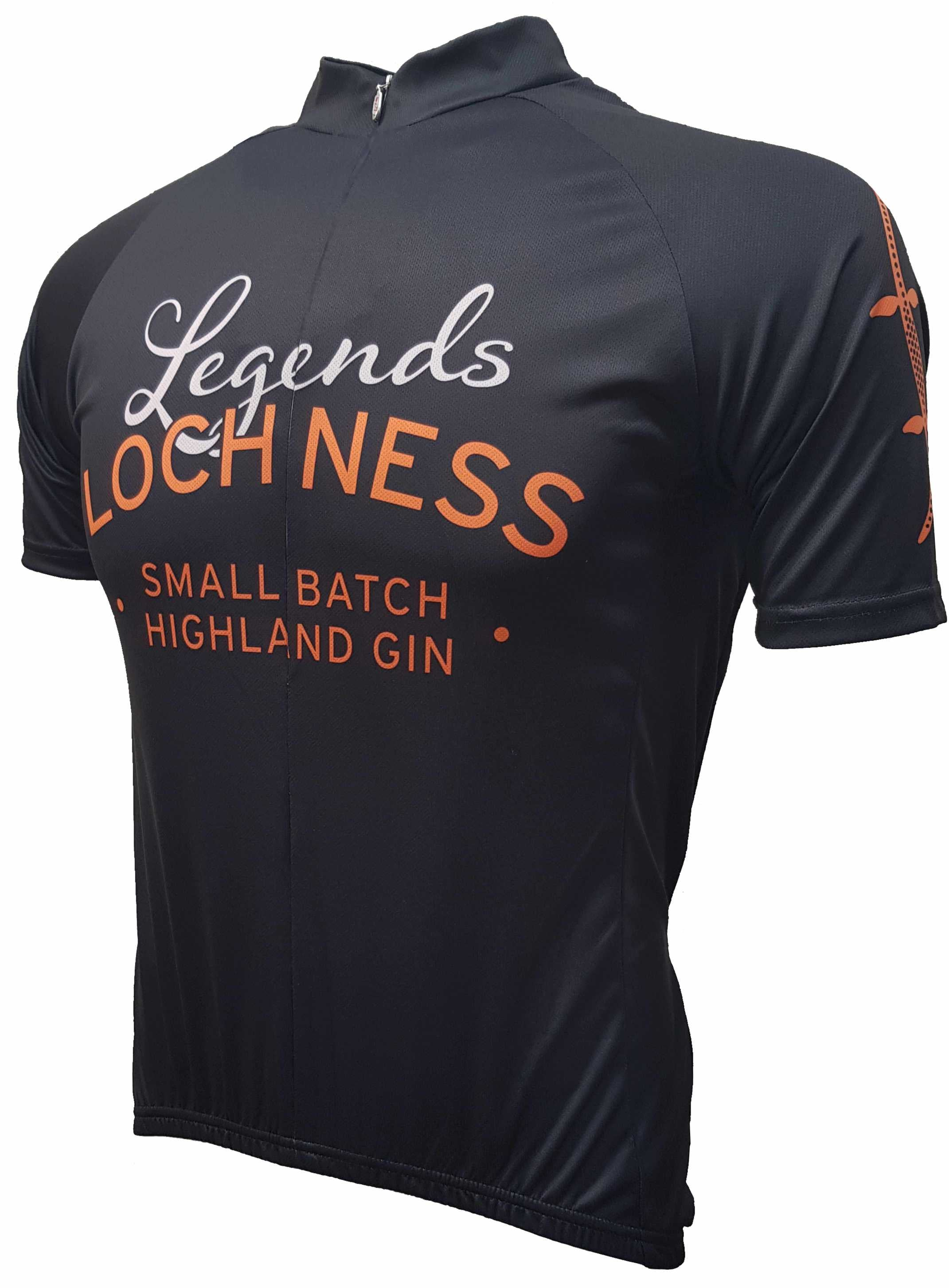 Loch Ness Spirits Road Jersey Front