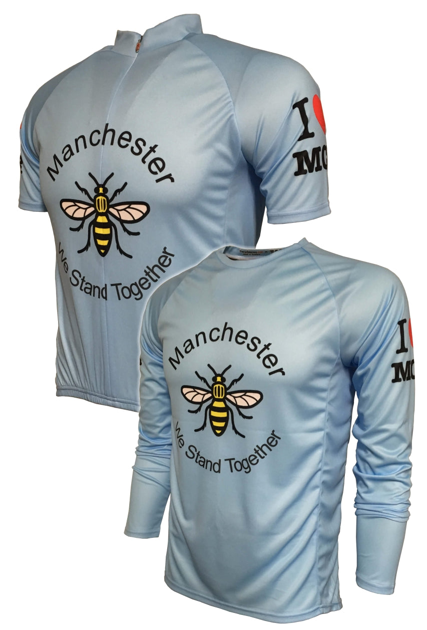 I Love Manchester Cycling Jersey Thumbnail
