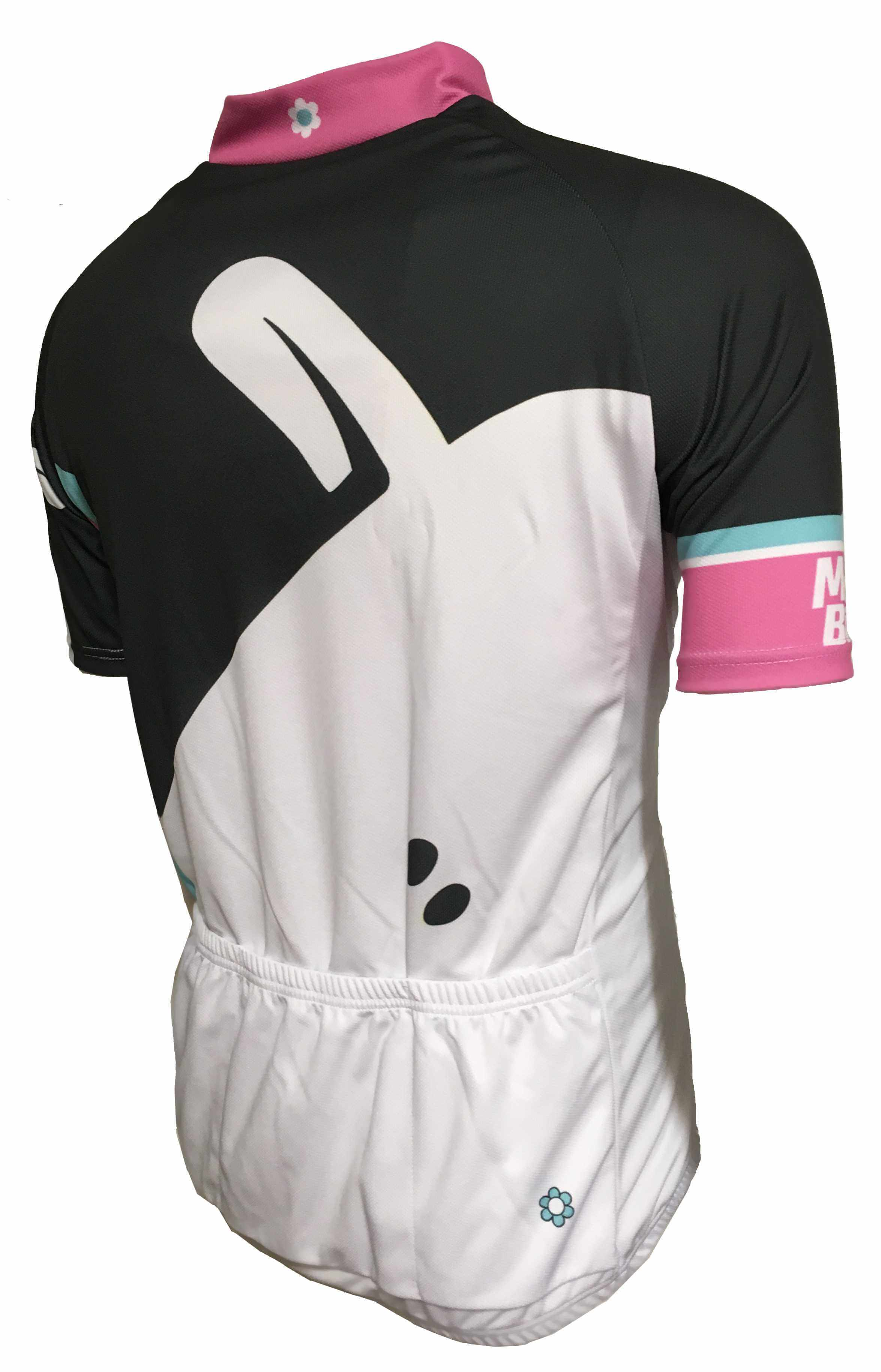 Mint Sauce Black Road Jersey Back