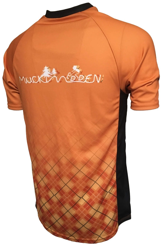 Muckmedden Events Road Cycling Jersey Back