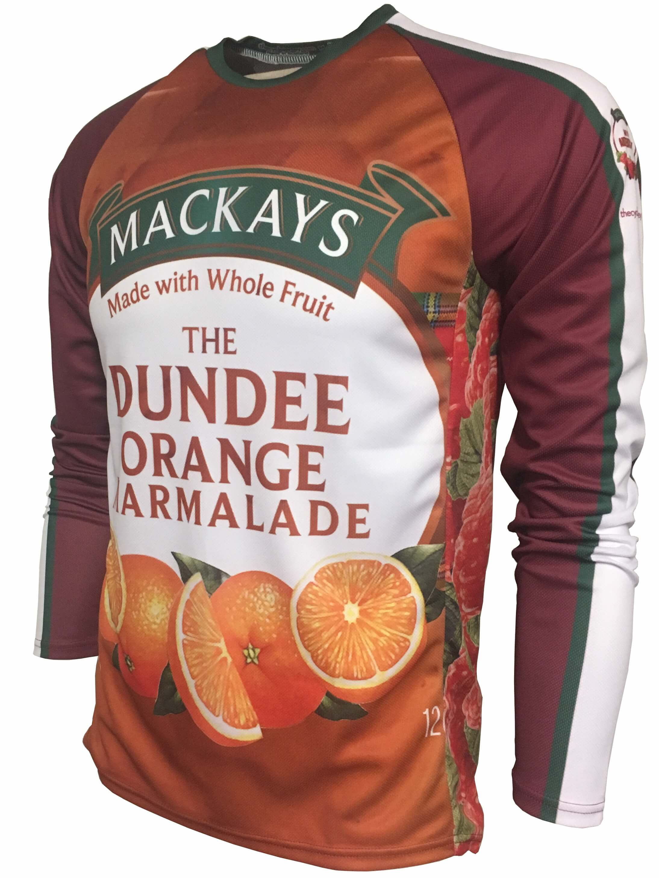 Mackays Jam Enduro Cycling Jersey Front