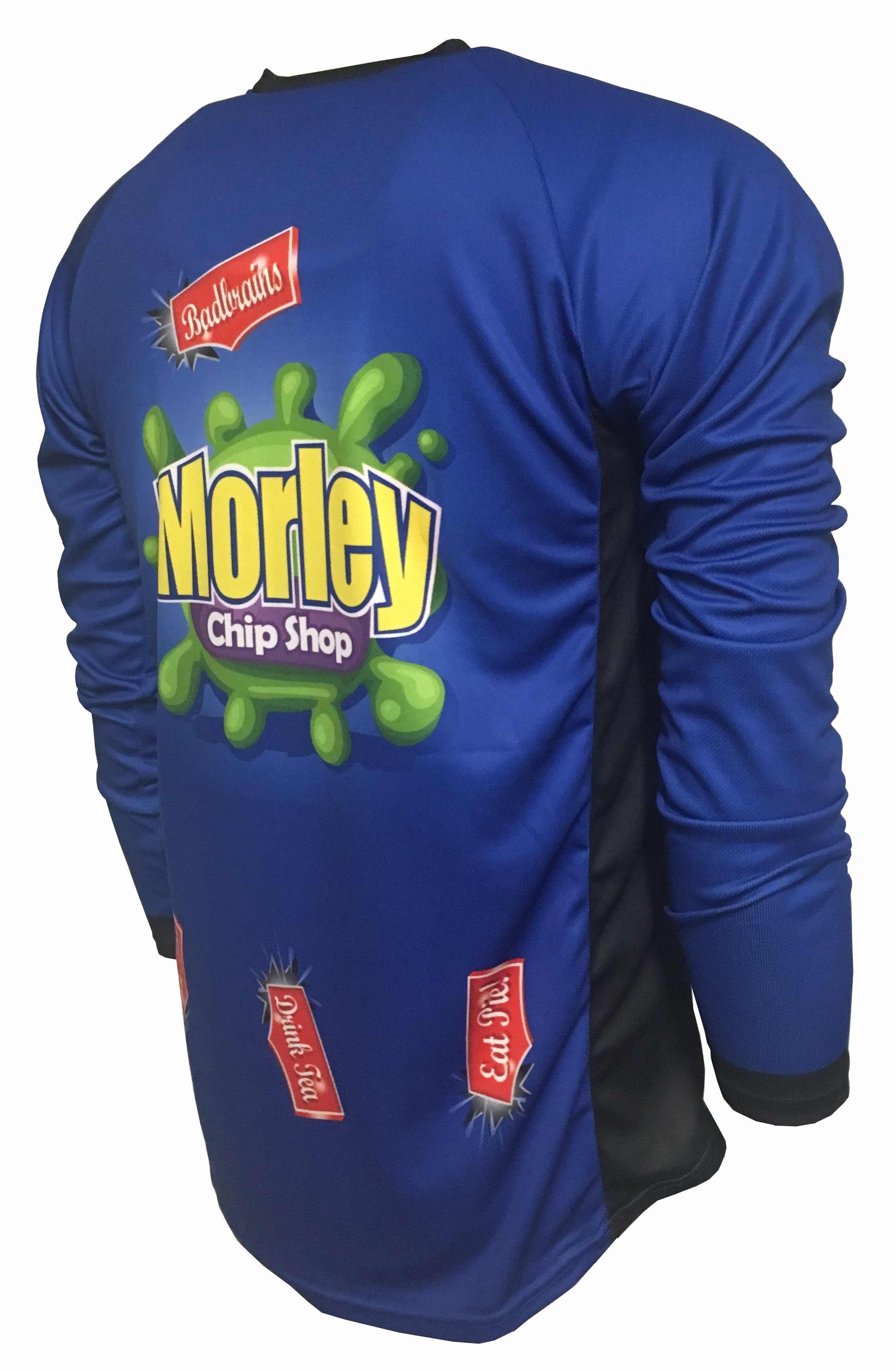 Morley Chip Shop Kids Enduro Cycle Jersey Back