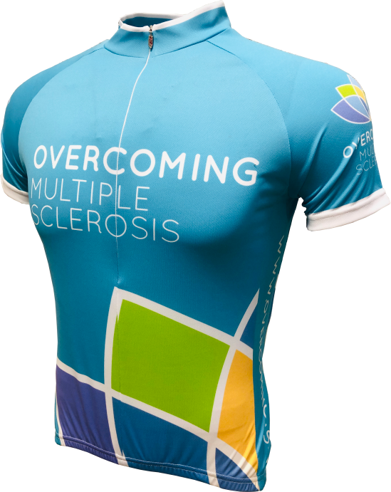 Overcoming MS Enduro Jersey Front