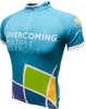 Overcoming MS Road Jersey Front